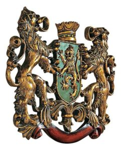 Heraldiek en restauratie Ox Iron Art Holland