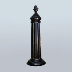 Parking post or decorative chain pole PRS-NL-10