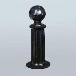 Parking post or decorative chain pole PRS-NL-07
