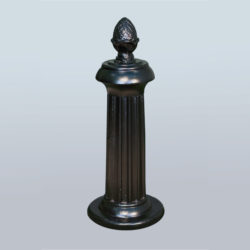 Parking post or decorative chain pole PRS-NL-08