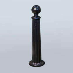 Parking post or decorative chain pole PRS-NL-11
