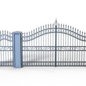 Wrought Iron Gate PR-001019002