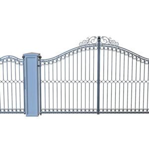 Smeedijzeren-poort-PR-001019003 vooraanzicht