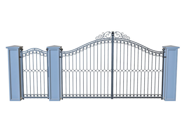 Wrought Iron Gate PR-001019003