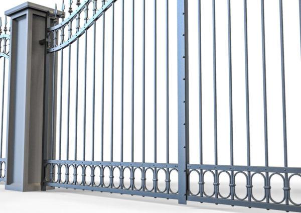 Smeedijzeren-poort-PR-001019004 detail onderaanzicht