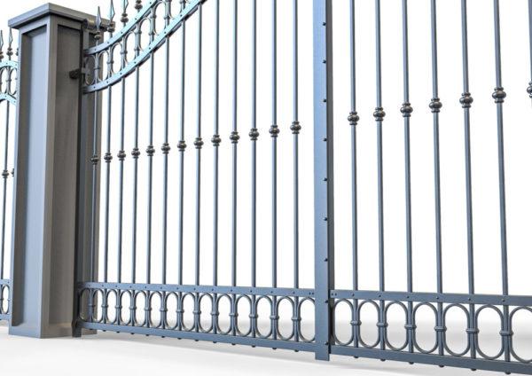 Smeedijzeren-poort-PR-001019005 detail onderaanzicht