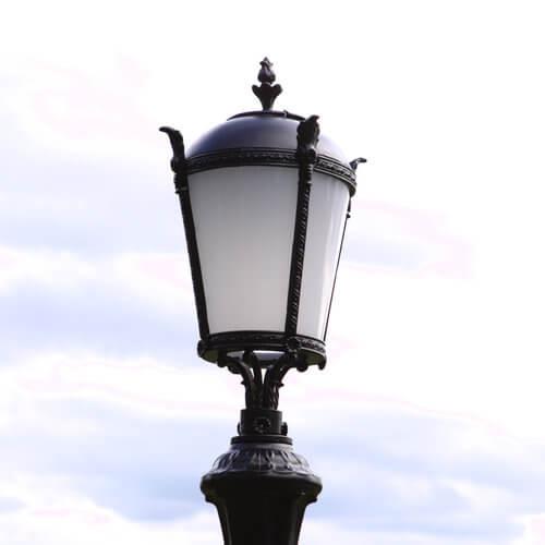 """Lantaarnpaal, straatlantaarn """"Giant""""; 1 lantaarns H320"""
