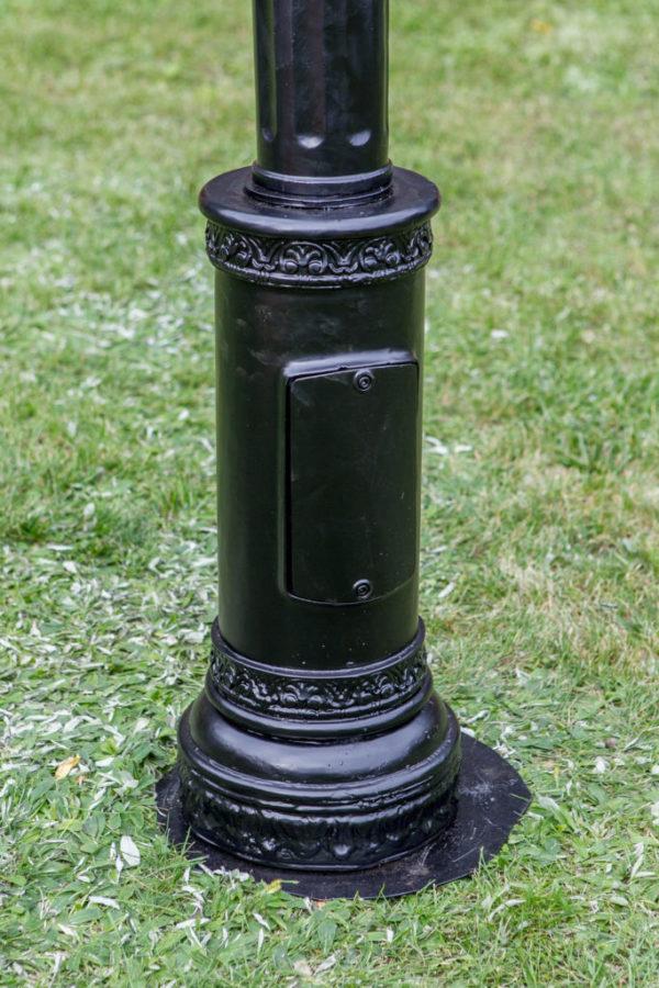 "Lamppost, street lamp ""Little Orchid""; 1 lantern H240 – H275"