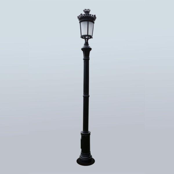 """Lantaarnpaal, straatlantaarn """"Tulip""""; 1 lantaarn H304"""