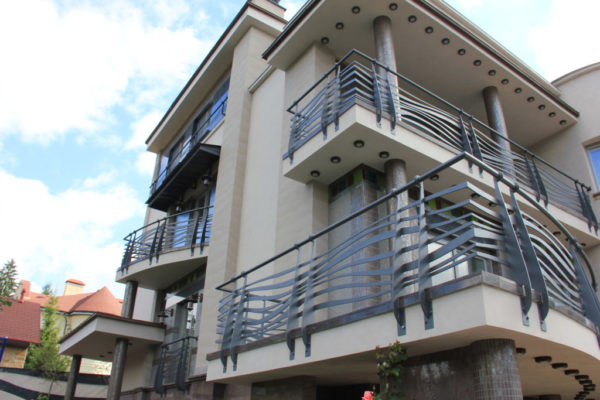 Stainless steel balcony fence (BR-0020180014)