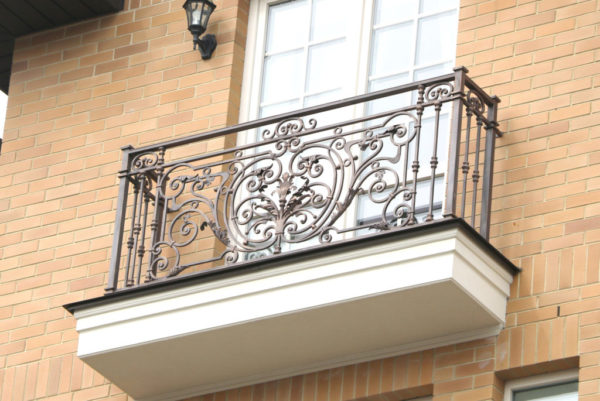 Smeedijzeren Frans balkonhek (BR-0020180018)