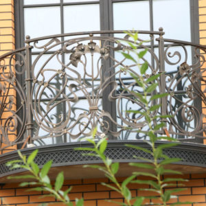 Smeedijzeren Frans balkonhek (BR-0020180019)