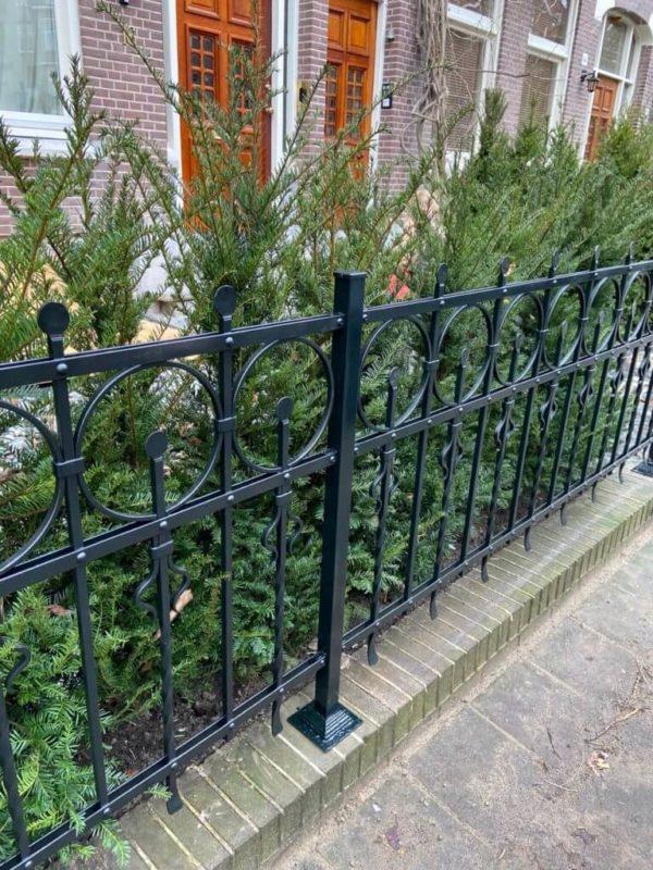 Smeedijzeren hek 'Old Amsterdam'