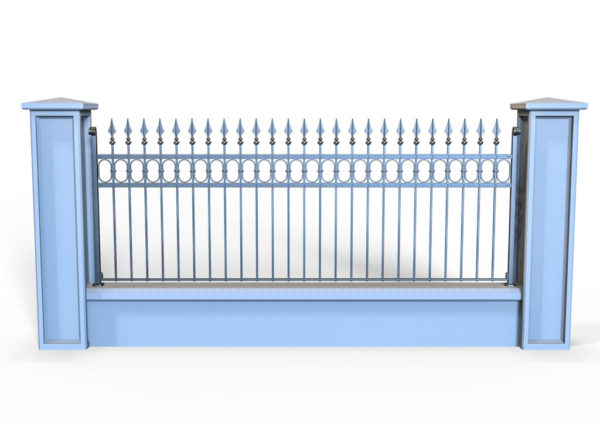 Wrought iron gate TH 0720001
