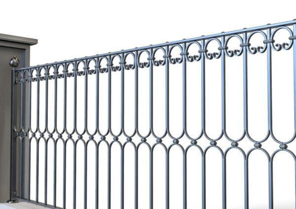 Wrought iron gate TH 0720006