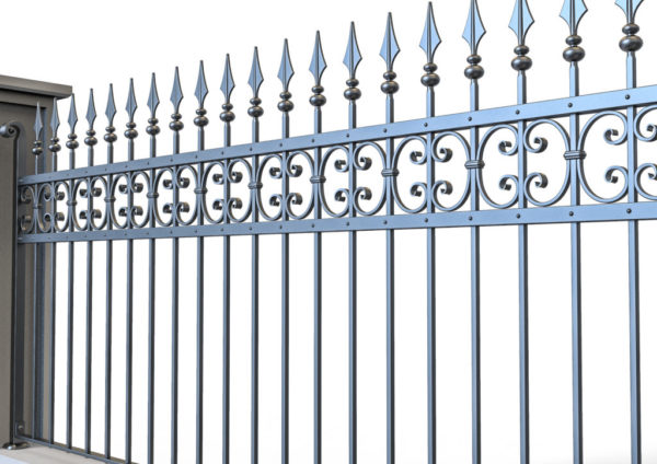 Wrought iron gate TH 0720009