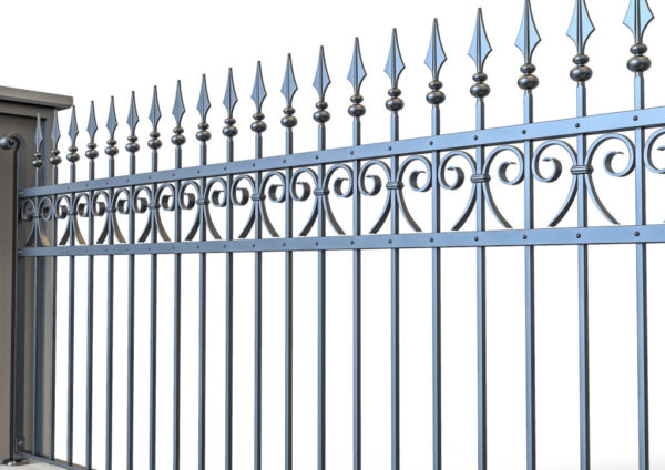 Wrought iron gate TH 0720015
