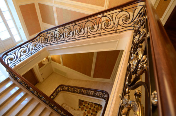 """Wrought iron banister and balustrade """"ClassicWood"""" overview"""