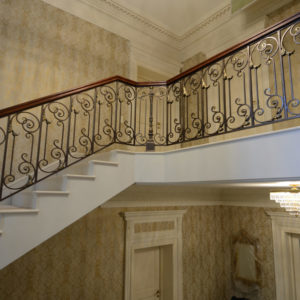 """Wrought iron banister and balustrade """"Royaal"""""""