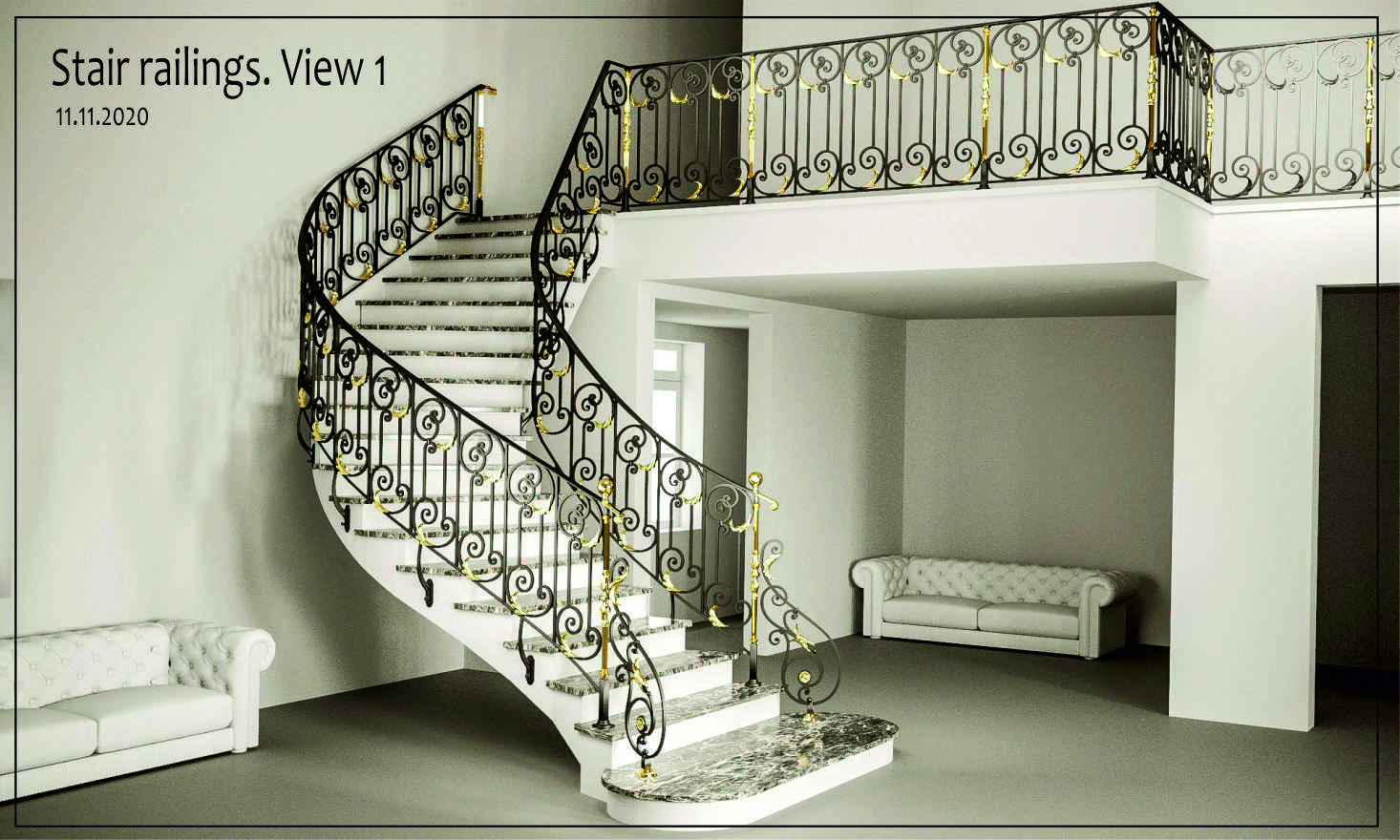 project rotterdam wrought iron stairs