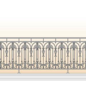 Balkonhek 'Curcubita'