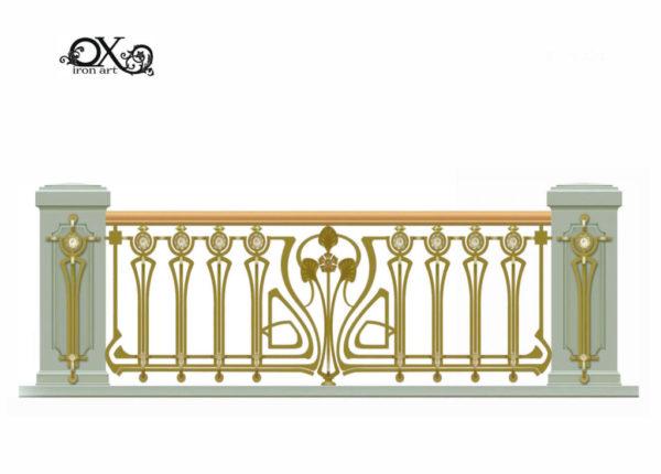 French Balcony Fence 'Ginkho'