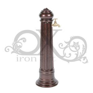 "Water column: water column ""Rural"" with tap"